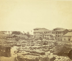 Cotton stores, Bombay.